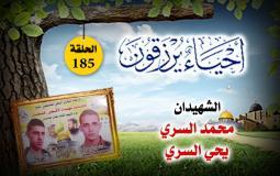 أحياء يرزقون الحلفة 185 الشهيدين محمد ويحيى السري