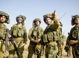 مناورات عسكرية صهيونية بغلاف غزة
