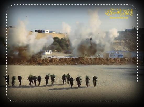 قيادة الكتائب أعطت أوامر لمغاويرها بالاستعداد لملاقاة جنود الاحتلال وجهاً لوجه