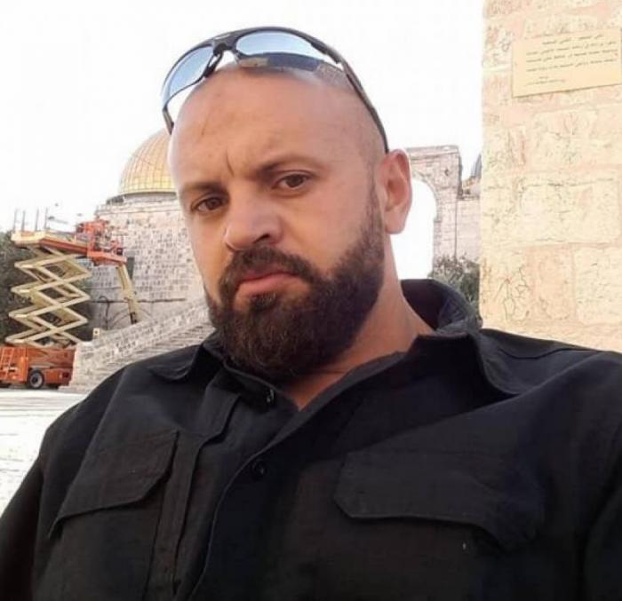 الإحتلال يعتقال حارس الأقصى سامر قباني