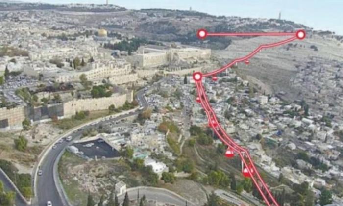 الاحتلال يصادق على القطار الهوائي في القدس