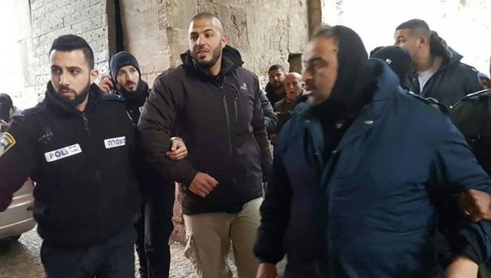 اعتقال الحارس في المسجد الأقصى فادي عليان